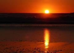 Ciel Montier-en-l'Isle 10200 Couché de soleil à donnant