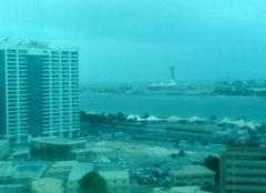 Nuages Abou Dhabi Sous les nuages