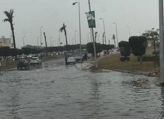 Nuages Le Caire Fortes pluies