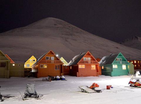 Avalanche  au Svalbard