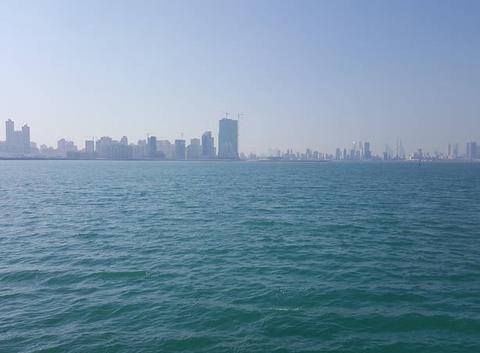 Vue du prince khalifa bin salman park