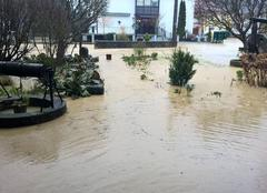 Catastrophe Oberdorff 57320 Village inondé