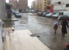 Pluie à fond