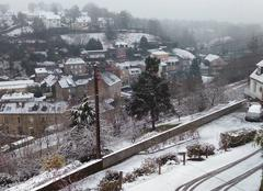 Fougeres neige