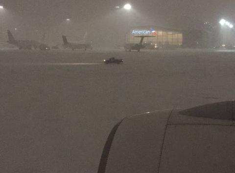 Arrivée à boston pendant la tempête jonas