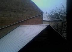 Neige ce matin en Sarthe