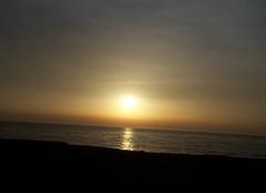 Mer San-Nicolao 20230 Lever du soleil