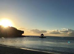 Fin de journée à l île Maurice
