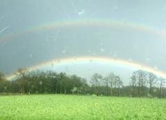 Ciel Oradour-sur-Glane 87520 Double arc en ciel