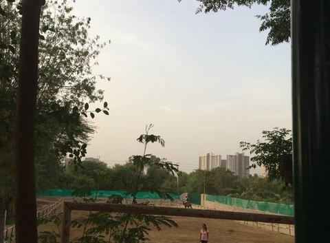 Fin de journée  à Gurgaon e Inde