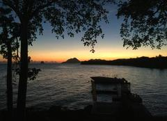 Coucher du soleil caraibien