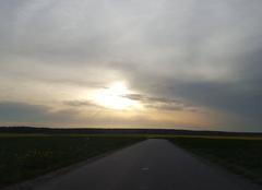 Soleil 8h du matin