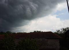 Gros nuage ce pr�pare