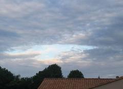 Ciel Saint-Pardoux 79310 Coeur au milieu des nuage