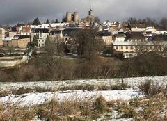 Jour de neige sur Crocq