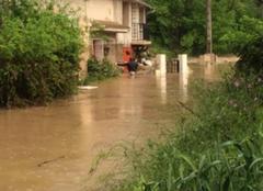 Pluie La Roche-en-Brenil 21530 Innondation