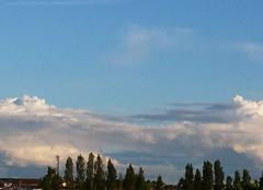 Beau ciel ce soir sur Florange