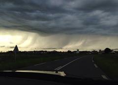 Orages / Grêles / Pluies dn Normandie