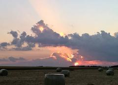 Ciel Sévaz Lever de soleil