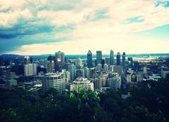 Ciel Montréal Belle vue sur Montréal