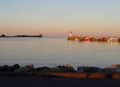 Mer Saint-Vaast-la-Hougue 50550 Rentrée au port