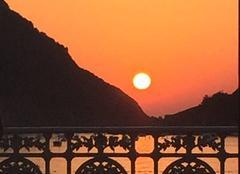 Chaleur Donostia-Saint-Sébastien 20001 Coucher du soleil