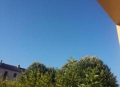 Pas de nuage ce matin
