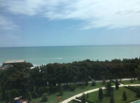 Soleil sur mer Caspienne