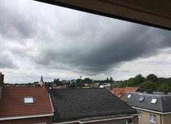 Nuages Dilbeek Gros nuages sur Dilbeek.