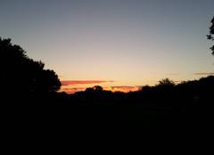 Ciel Benassay 86470 Joli coucher de soleil