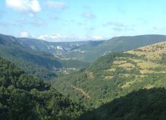 Vue sur les gorges du Tarn