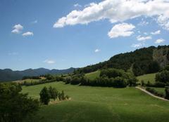Plateau � 1030 m�tres
