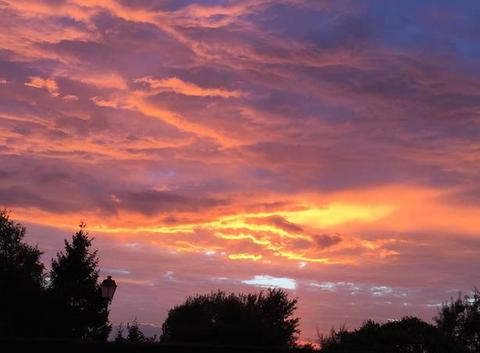 Embrasement du ciel