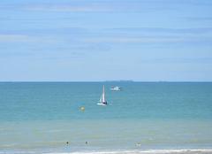 Vue sur mer � Jullouville