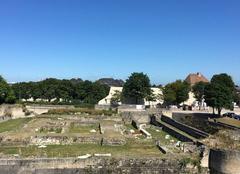 Beau ciel bleu � Caen