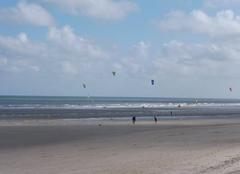 Plage de Dunkerque ce  09 Ao�t ce matin.