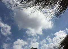 Nuage à Marbella