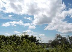Beau temps � Calais mais nuageux et frais pour la saison ( 20� � l'ombre )