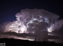 Orage � l'int�rieur des nuages