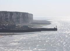 Le Tréport vu de la falaise de Mers-les-Bains
