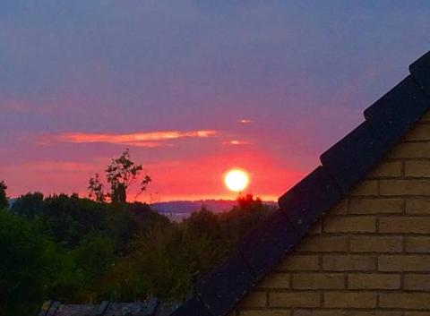 Coucher du Soleil depuis Rebreuve-Ranchicourt