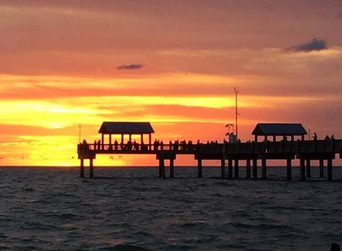Coucher de soleil en Floride