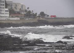 Mer agitée à Cape Town