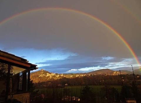 Arc en ciel en haute Provence