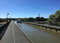 Chaleur Briare 45250 Pont canal de Briare