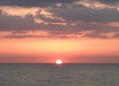 Ciel Ragusa 97100 Coucher de soleil Sicile