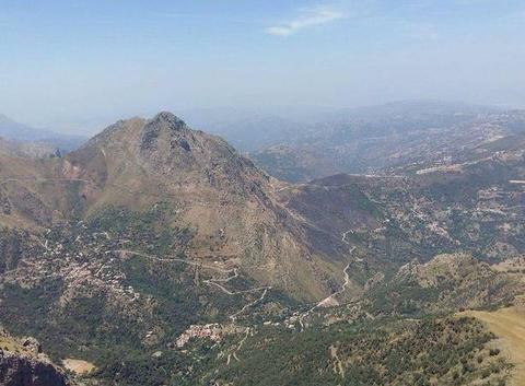 Montagne de Djurdjura Kabylie