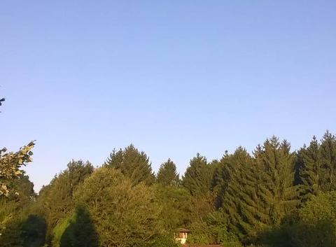 Encore beau ce matin.