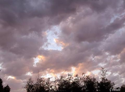 Les nuages arrivent !