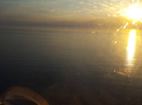 Coucher de soleil cap d'Aplrech